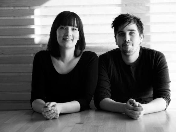 Kontoret, Elma Pasalic och Peter Östborg. Foto: Severus Tenenbaum