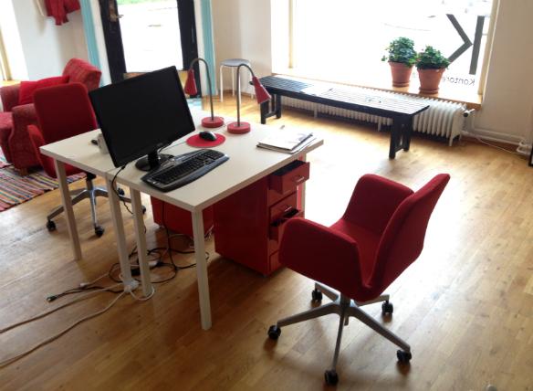 Kontorets kontor.